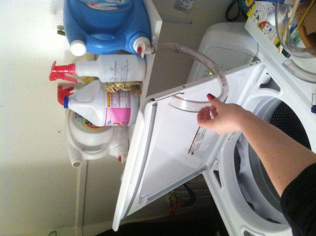 laundry soap dispenser